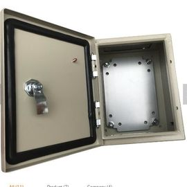 Sheet Stainless Steel Distribution Box Waterproof Surface Mounted Customized Size